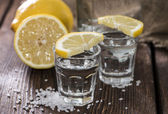 Two Shots (Tequila) — Stock Photo
