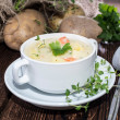 Stock Photo: Homemade Potatoe Soup