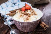 Rice Pudding — Stock Photo