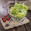 Fresh Lettuce in a bowl — Stock Photo