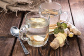 Homemade Ginger Tea — Stock Photo