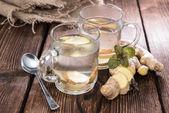 自制姜汁茶 — 图库照片
