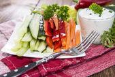 Fresh diet food — Stock Photo