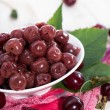Stock Photo: Preserved Cherries
