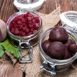 Stock Photo: Preserved Beet