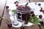 Fresh made Cherry Jelly — Stock Photo