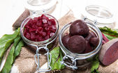 Portion of pickled Beetroot — Stock Photo