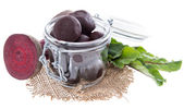 Isolated pickled Beetrot — Stock Photo