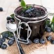 Blueberry Jam — Stock Photo #29016813