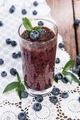 Drgania zdrowe jagód — Zdjęcie stockowe