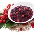 Stock Photo: Portion of Red Currant Jam