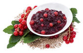Portion of Red Currant Jam — Stock Photo