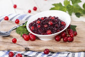 Fresh Red Currant Jam — Stock Photo