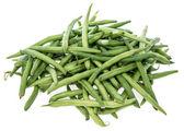 Green Beans on white — Stock Photo