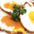Fried Eggs — Stock Video