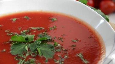 ντοματόσουπα — 图库视频影像