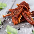 Dried and Salted Tomatoes — Stock Photo