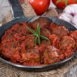 Stock Photo: Meatballs in Tomato Sauce
