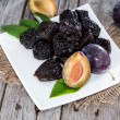 Sundried Plums — Stock Photo