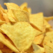 Roated nachos — Stock Video