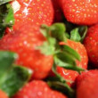 Stock Video: Rotating Strawberries