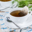 Fresh made Fennel Tea — Stok fotoğraf