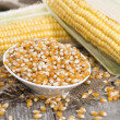 Stock Photo: Bowl with dried Sweetcorn