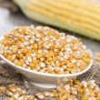 Stock Photo: Small bowl with dried Sweetcorn