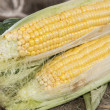 Stock Photo: Fresh portion of Sweetcorn