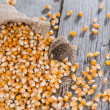 Stock Photo: Dried Sweetcorn (macro shot)
