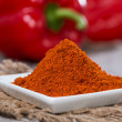 Portion of Paprika Powder — Stock Photo