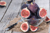 Portion of fresh Figs — Stock Photo