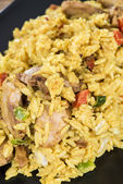 Portion of Curry Rice — Stock Photo