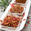 Kibbled Chilli Fruits — Stock Photo