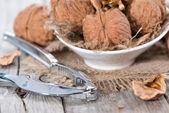 Walnuts (macro shot) — Stock Photo