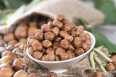 Portion of Hazelnuts — Stock Photo