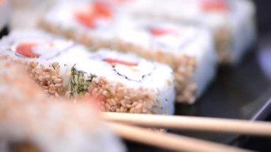 Sushi — Stock Video