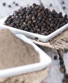 Fresh Black Pepper — Stock Photo