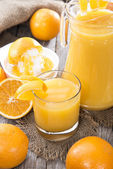 Fresh made Orange Juice — Stock Photo