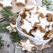 Stock Photo: Christmas Sweets (Cinnamon Cookies)