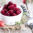 Stock Photo: Preserved Cranberries
