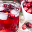 Chilled Cranberry Juice — Stock Photo