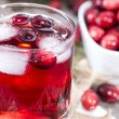 Stock Photo: Chilled Cranberry Juice