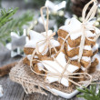 Christmas Sweets (Cinnamon Cookies) — Stock Photo #35181355