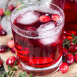 Chilled Cranberry Juice — Stock Photo #35181415