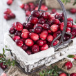 Heap of fresh Cranberries — Stock Photo