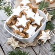 Christmas Sweets (Cinnamon Cookies) — Stock Photo