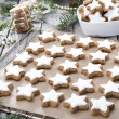 Christmas Sweets (Cinnamon Cookies) — Stock Photo #35181599