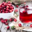Chilled Cranberry Juice — Stock Photo #35181825