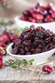 Heap of dry Cranberries — Stockfoto